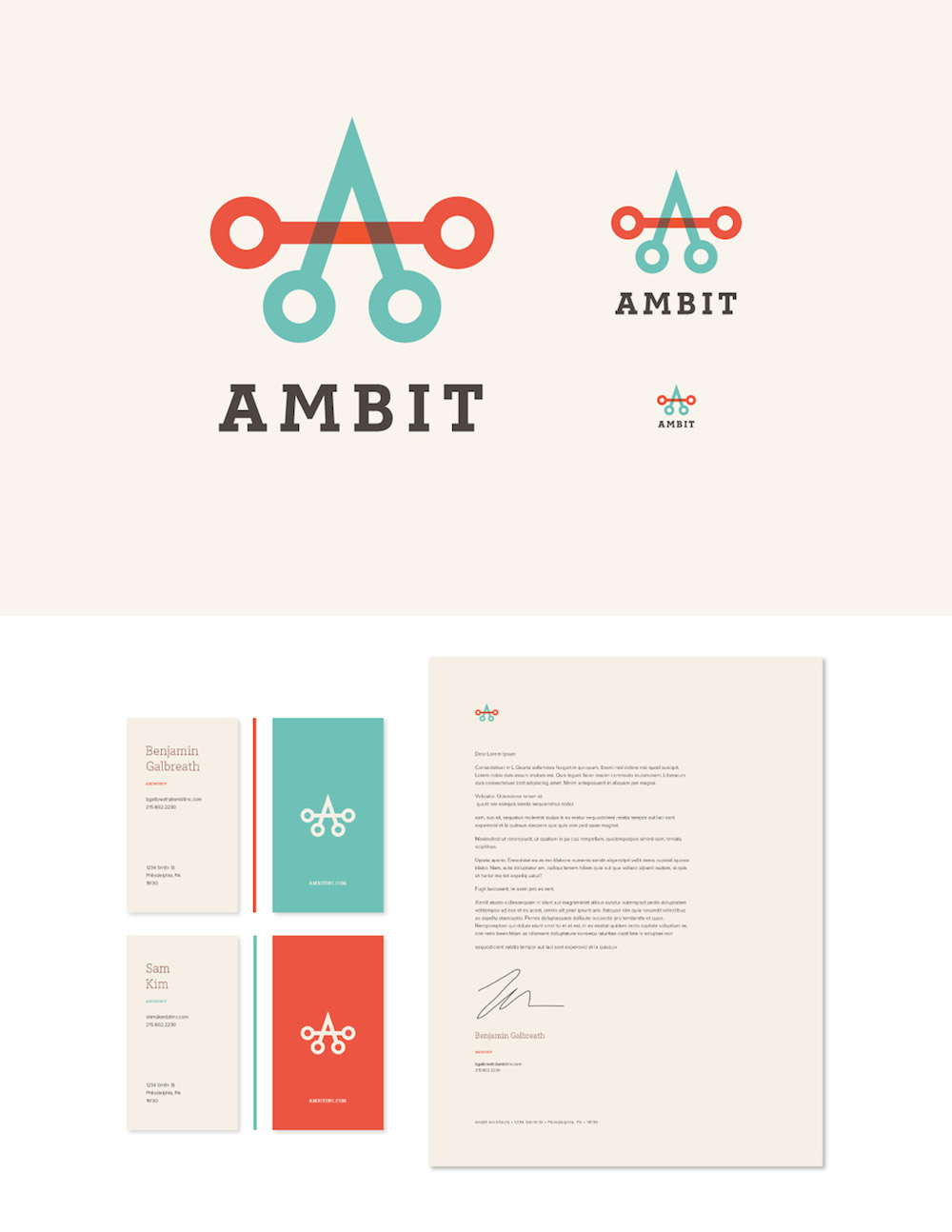 Ambit Identity by 160over90